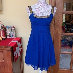 BCBGMAXAZRIA   Silk Party Dress
